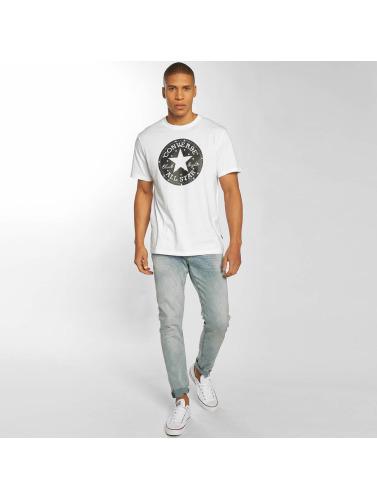 Converse Herren T-Shirt Chuck Patch Star Fill in weiß