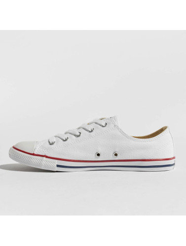 Converse Mujeres Zapatillas de deporte All Star Dainty Ox Chucks in blanco