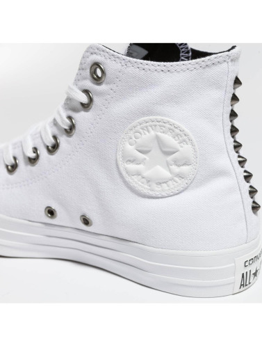 Converse Mujeres Zapatillas de deporte Chuck Taylor All Star Hi in blanco
