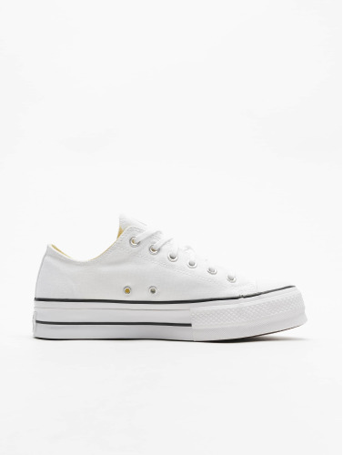 Converse Mujeres Zapatillas de deporte Chuck Taylor All Star Lift OX in blanco