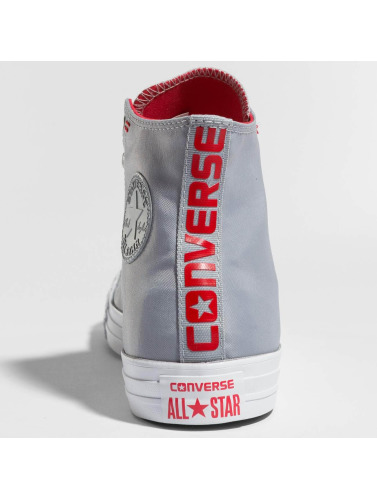 Converse Hombres Zapatillas de deporte Chuck Taylor All Star Hi in gris