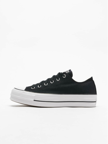 Converse Mujeres Zapatillas de deporte Chuck Taylor All Star Lift OX in negro
