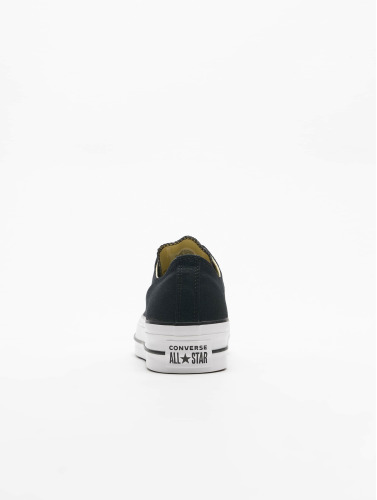 Converse Mujeres Zapatillas de deporte Chuck Taylor All Star Lift OX in negro