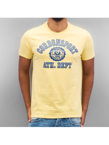 Cordon Herren T-Shirt Ole in gelb