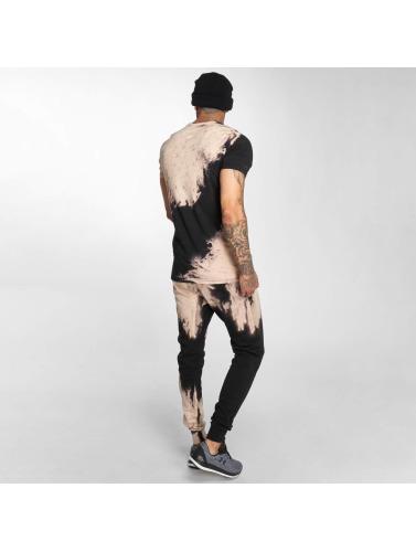 Criminal Damage Hombres Camiseta Bleach in negro