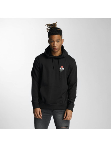 Criminal Damage Herren Hoody Keefe in schwarz