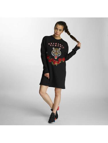 Criminal Damage Damen Pullover Tigress in schwarz