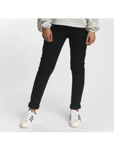Criminal Damage Damen Skinny Jeans Xela in schwarz