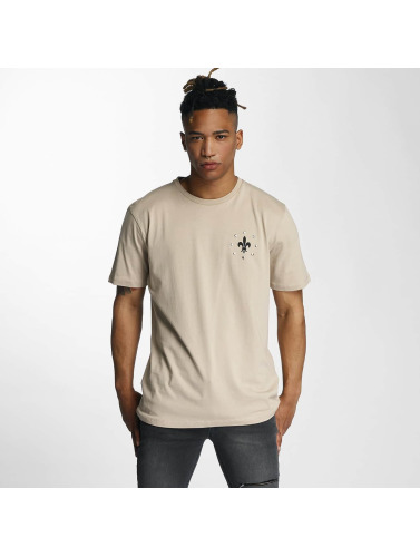 Criminal Damage Herren T-Shirt Caliber in beige