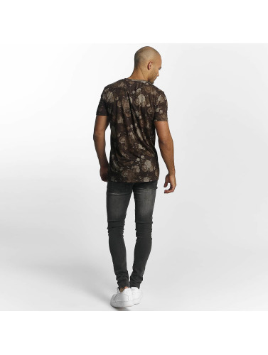 Criminal Damage Herren T-Shirt Vine in braun