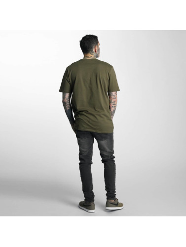 Criminal Damage Herren T-Shirt Gabriel in olive