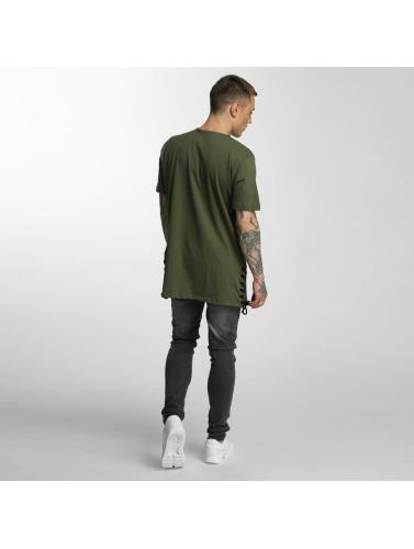Criminal Damage Herren T-Shirt Lace in olive