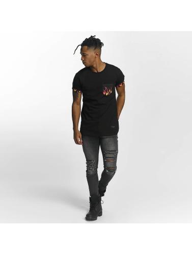 Günstige Standorte Verkauf Auslass Günstig Kaufen Manchester Großen Verkauf Criminal Damage Herren T-Shirt Flame in schwarz Billig Verkauf Offiziell Billig Verkaufen Bilder tqymchRq