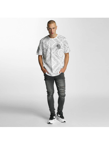 Criminal Damage Herren T-Shirt Side in weiß