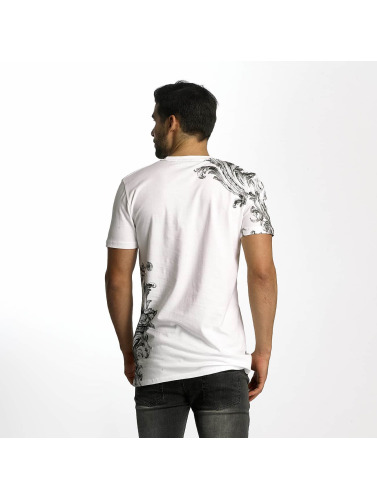 Criminal Damage Herren T-Shirt Paulo in weiß