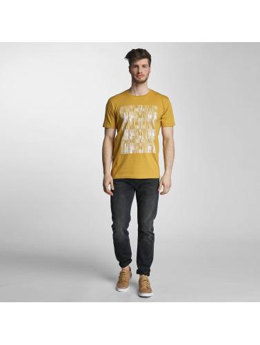 Cyprime Hombres Camiseta Holmium in amarillo