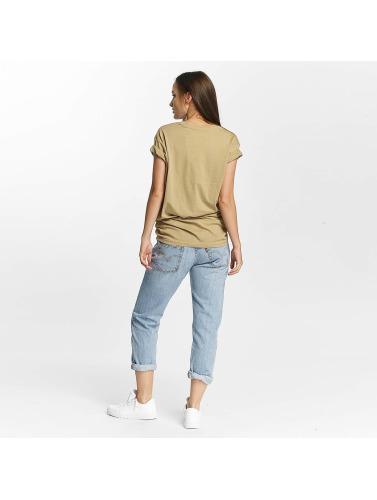Cyprime Mujeres Camiseta Cerium Oversized in beis