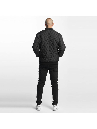Cyprime Hombres Cazadora bomber Quilted in negro