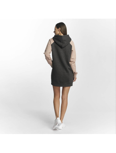 Cyprime Damen Kleid Thulium in grau