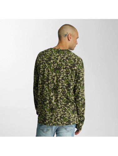 Cyprime Herren Longsleeve Basic in camouflage