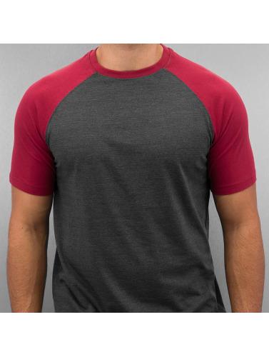 Cyprime Herren T-Shirt Raglan in rot