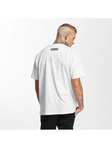 Dangerous DNGRS Hombres Camiseta Alif 2 in blanco