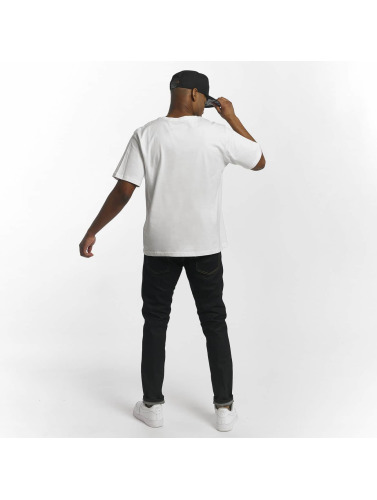 Dangerous DNGRS Hombres Camiseta Race City Pikwire in blanco