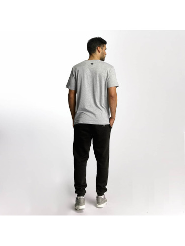 Dangerous DNGRS Hombres Camiseta Saintthree in gris
