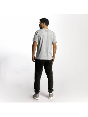 Dangerous DNGRS Hombres Camiseta Boxing in gris