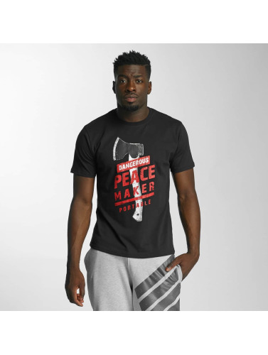 billig fabrikkutsalg billig salg pålitelig Farlig Dngrs Hombres Camiseta Fredsstifter Neger oqYQBXw