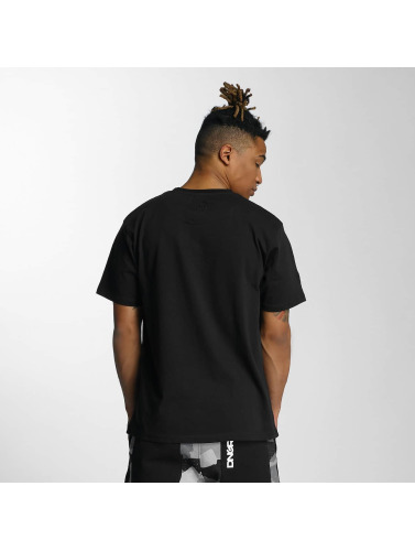 Dangerous DNGRS Hombres Camiseta Moik Style in negro