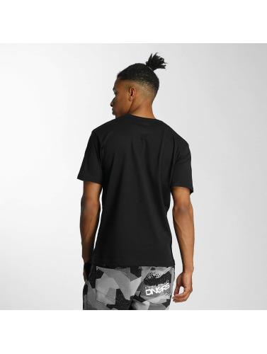 Dangerous DNGRS Hombres Camiseta Sneaker in negro