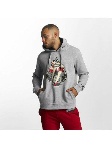 Dangerous DNGRS Herren Hoody Race City Pikwire in grau