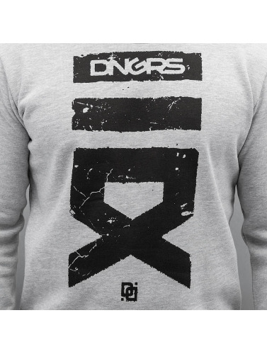 Dangerous DNGRS Hombres Jersey Cyrian in gris