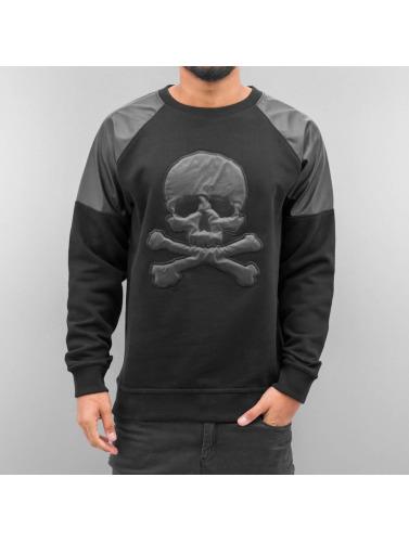 Dangerous DNGRS Hombres Jersey Skull in negro