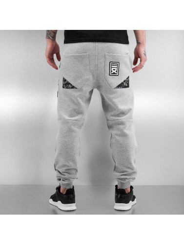 Dangerous DNGRS Herren Jogginghose Warrior in grau