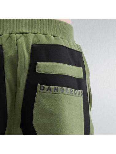 Dangerous DNGRS Herren Jogginghose Protection in olive Billig Manchester N5PwbJHh