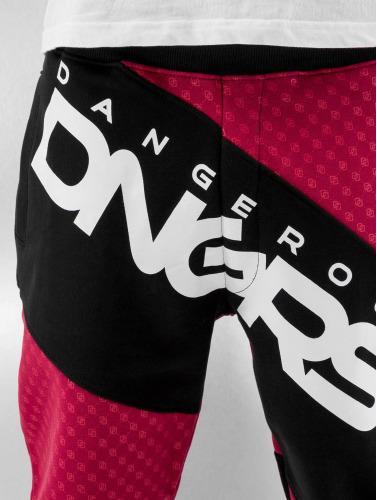 Dangerous DNGRS Herren Jogginghose Toco in rot