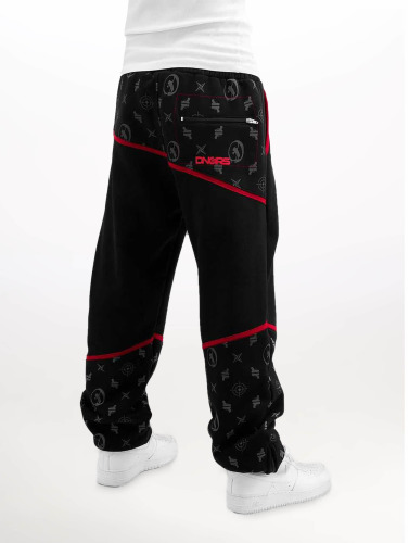 Dangerous DNGRS Herren Jogginghose Crosshair Sweat Pants in schwarz
