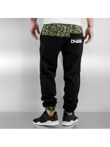 Dangerous DNGRS Herren Jogginghose Chill in schwarz