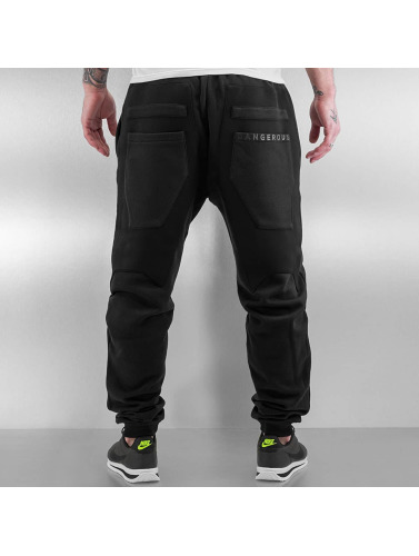 Dangerous DNGRS Herren Jogginghose Protection in schwarz