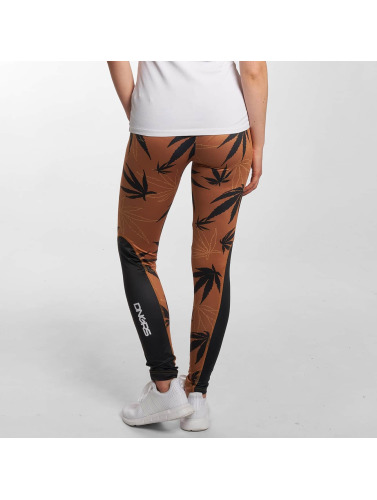 Dangerous DNGRS Damen Legging Weedo in braun