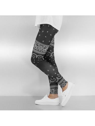 Dangerous DNGRS Damen Legging Paisley in schwarz
