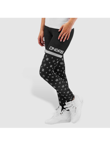 Dangerous DNGRS Damen Legging Loop in schwarz