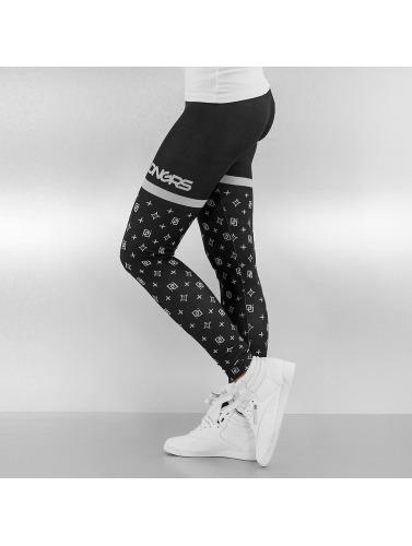 Dangerous DNGRS Damen Legging Loop in schwarz