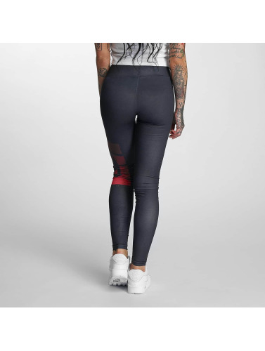 Dangerous DNGRS Damen Legging Skull in schwarz