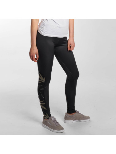 Dangerous DNGRS Damen Legging Woodpeace in schwarz