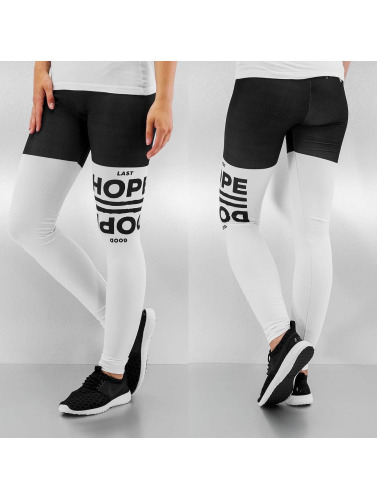 Dangerous DNGRS Damen Legging Hope Dope in weiß