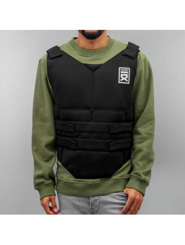 Dangerous DNGRS Herren Pullover Shooting Vest in olive