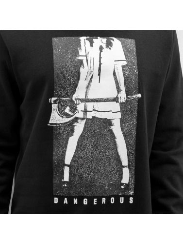 Dangerous DNGRS Herren Pullover Headless in schwarz